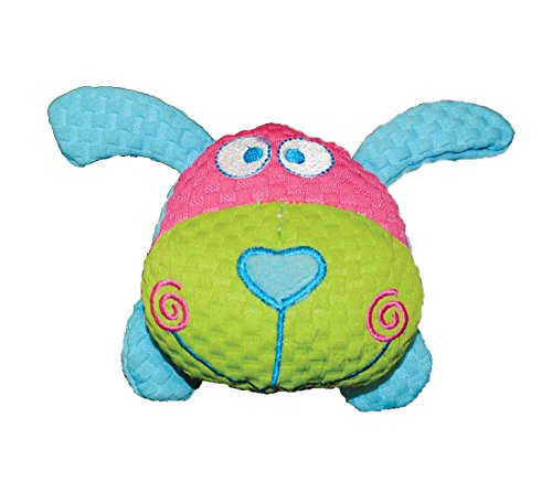 Image of Patchwork Pet TuffPuff Pet Toy, Dog Head, 6-Inch