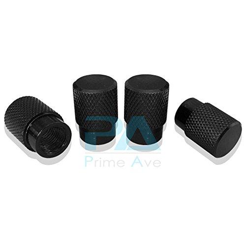 Black Valve Stem Caps (Aluminum Alloy Tire Valve Stem Caps)