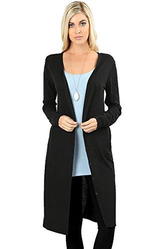 side button cardigan - 4