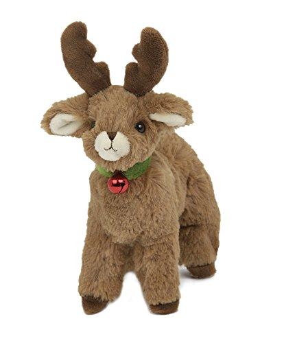 Bearington Jolly Christmas Plush Stuffed Animal Reindeer Reindeer, 6 inches