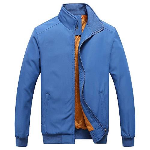 Kedeame Men's Work Active Lightweight Softshell Zipper Bomber Jacket