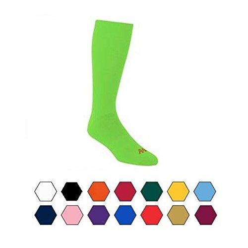Performance Moisture Wicking Tube Sock, All Sports activities: Baseball, Softball, Soccer, Volleyball, Basketball – DiZiSports Store