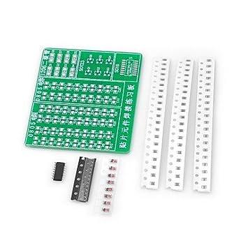 HEZHENGFENG Práctica de soldadura SMD DIY Kit de placa PCB (ino) Accesorio: Amazon.es: Electrónica