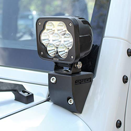 Westin 62-41045 Snyper Lower Pillar Mount for Jeep Wrangler JK ()