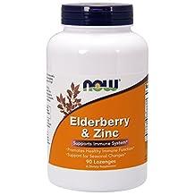 Now Elderberry & Zinc 90 lzngs