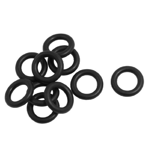 Uxcell Mechanical Rubber O Ring Oil Seal Gaskets (10 Piece), 16mm x 3mm -