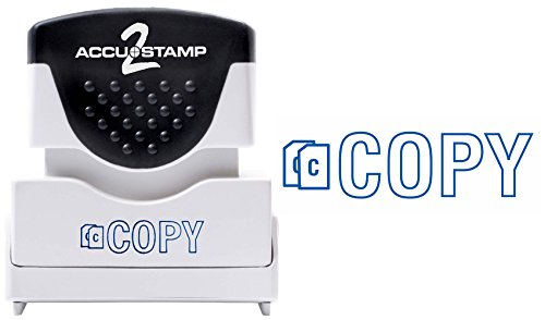 - ACCU-STAMP2 Message Stamp with Shutter, 1-Color, COPY, 1-5/8