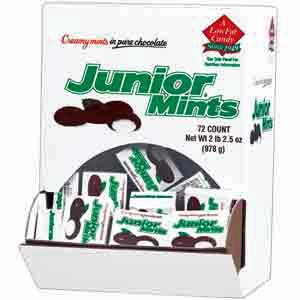 Junior Mints Fun Size Boxes - 72 / Box