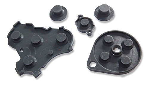 C Controller Conductive Silicone Button Pad Replacements (Gamecube Pad)