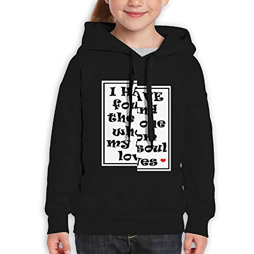 RWEA I Have Found The One Whom My Soul Loves Wedding Teenage Girls Classic Nice Hoodies Casual Clothing by RWEA