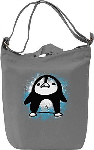 Cute Penguin Borsa Giornaliera Canvas Canvas Day Bag| 100% Premium Cotton Canvas| DTG Printing|