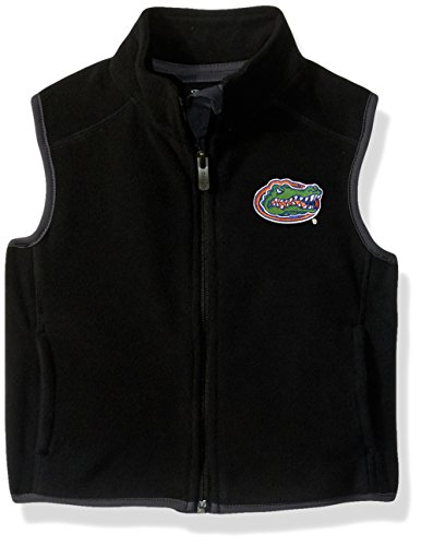 "NCAA by Outerstuff NCAA Florida Gators Kids & Youth Boys ""Scrimmage"" Polar Fleece Vest, Black, Kids Medium(5-6)"