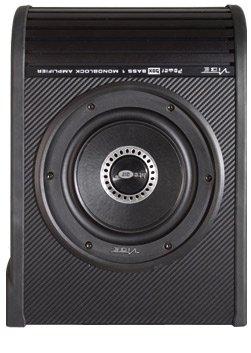 vibe audio optisound auto 8 active amplified slim underseat bass reflex  subwoofer enclosure: amazon co uk: musical instruments