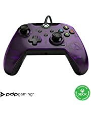 PDP Gaming Wired Controller: Purple - Xbox Series X S, Xbox One, PC