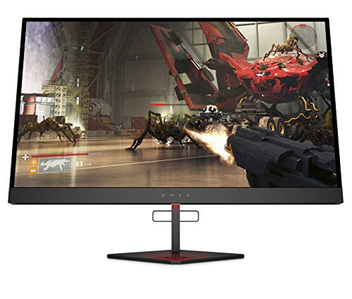 Omen X by HP 27-Inch Gaming Monitor 16: 9, 240Hz, Height Adjustable with FreeSync 2 HDR (Black)