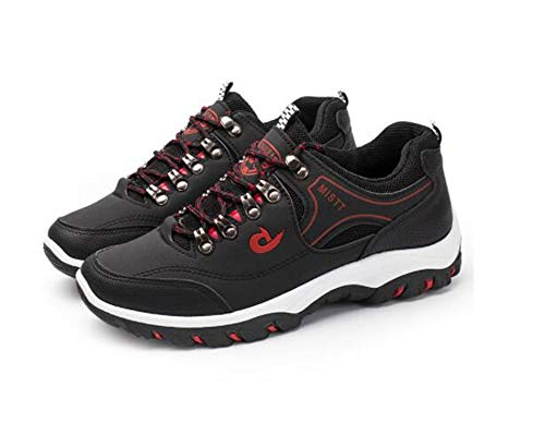 F1rst Rate Trail Running Shoes Lightweight Walking Workout Athletic Casual Sneakers for Men(Black-Lable 39/6 D (M) US Men) ()