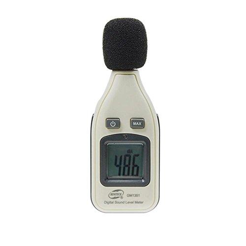 WXLAA Digital LCD Sound Level Meter Noise Pressure Volume Decibel Monitoring Tester by WXLAA