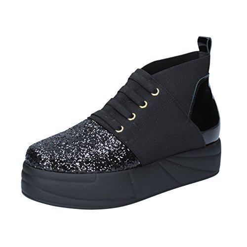 JEANNOT Sneaker Schwarz Schwarz Schwarz Damen Sneaker Schwarz Damen JEANNOT JEANNOT 5d6CwnWCq