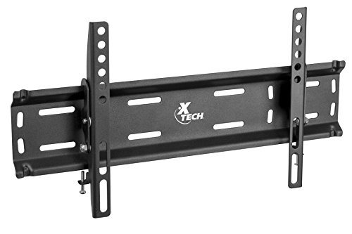 (Xtech Americas Low Profile TV Wall Mount with Tilt function 10 degree, 1.3 Inch Slim, Fits 23 to 42 Inches, Load of 77 Lbs, VESA Max 400x200mm, For Samsung, LG, Sony, Panasonic, Vizio, Sharp & More)