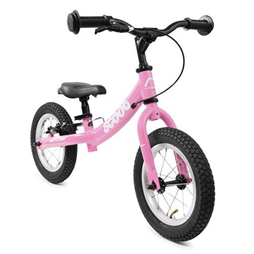 "Scoot 12"" Balance Bike by Ridgeback UK in Gloss Pink"