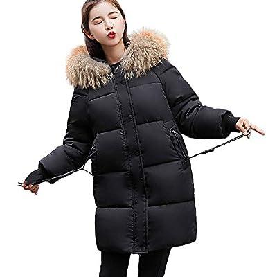Coats For Women, Clearance!! Farjing Women Winter Sale Warm Coat Faux Fur Hooded Thick Warm Slim Jacket Long Overcoat