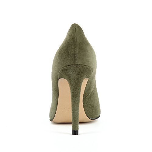 Green Suede Evita Donna Pumps Shoes Alina w1n04Y