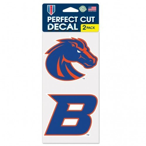 NCAA Boise State Perfect Cut Decal (Set of 2), 4