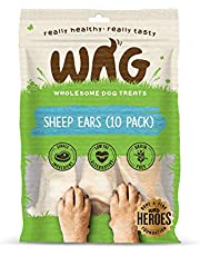 Watch & Grow Food Co Sheep Ears Dog Treat, 10 Pack
