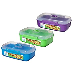 Sistema Microwave Collection Noodle Bowl 28.7 oz, Assorted 1109ZS, 4 Cup,
