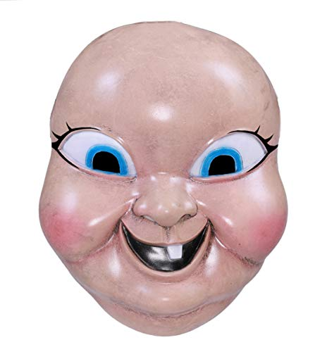 Happy Death Day Mask Scary Doll Mask Latex for Men Boys Women,Halloween Mask Cosplay Party -