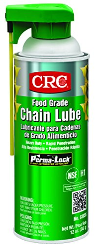 CRC 03055 Food Grade Chain Lubricating Spray, 12 oz Aerosol