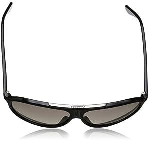 Carrera 6015 Aviator Sunglasses in Shiny Black 6015/S D28 61