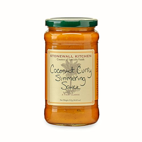 Stonewall Kitchen Coconut Curry Simmering Sauce, 18.25 -
