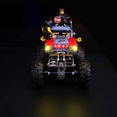 BRIKSMAX Led Lighting Kit for Emmet and Lucy's Escape Buggy - Compatible with Lego 70829 Building Blocks Model- Not Include The Lego Set: Toys & Games