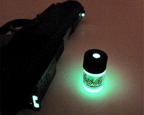 GLOW-ON ORIGINAL Color Super Phosphorescent Gun Sights Paint Small 2.3 ml vial (Glow In The Dark Website)