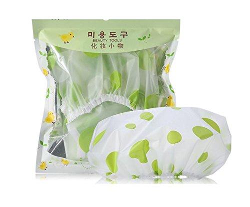 Cuffia per doccia Tuanhui 1pz, verde. THYM-01