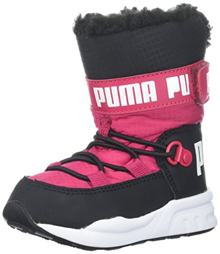 PUMA Baby Kids Trinomic Boot Sneaker, Love Potion Black, 10 M US Toddler (Puma Trinomic Women)