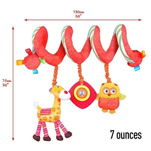 Baby Spielzeug Kinderwagen//Spiral Kind//Spiral Blau//Spiral Spielzeug//Spiral Babyschale//Spiral Spiegelburg S/ü/ße Puppen Kinderwagen Spielzeug mit Blau Astronaut f/ür Unisex Baby Labebe Activity Spiral