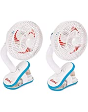 Diono Two2Go Stroller Fan, White (2-Pack)