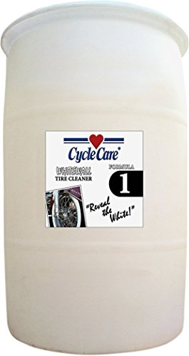 Cycle Care Formulas 1030 Formula 1 Whitewall Tire and Wheel Cleaner - 30gal. by Cycle Care Formulas