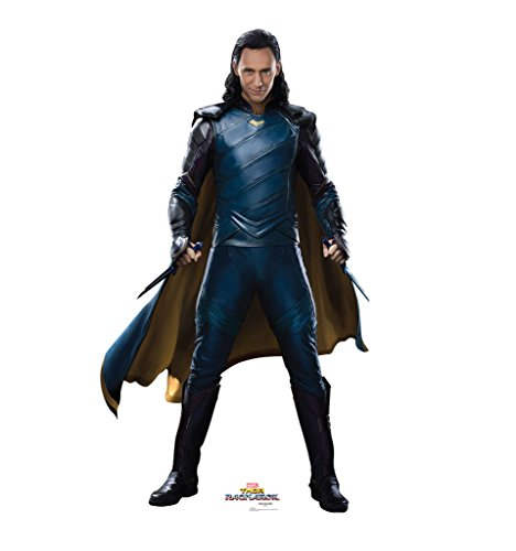 Loki - Thor: Ragnarok (2017 Film) - Advanced Graphics Life Size Cardboard Standup (Standee Cut Out)
