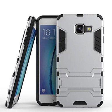 Casos hermosos, cubiertas, apoyo blindado teléfono móvil cubierta del caso de cáscara de alta calidad para la galaxia A3 / A5 / A7 (2016) caja del teléfono ( Color : Oro , Modelos Compatibles : Galaxy Negro