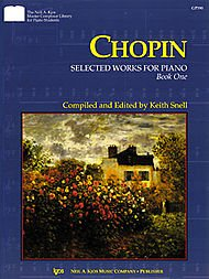 Chopin, Selected Works for Piano (Book 0ne)