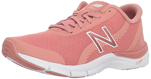 New Balance Women's 711v3 Cross-Trainer-Shoes, Dusted Peach/White, 8 B US