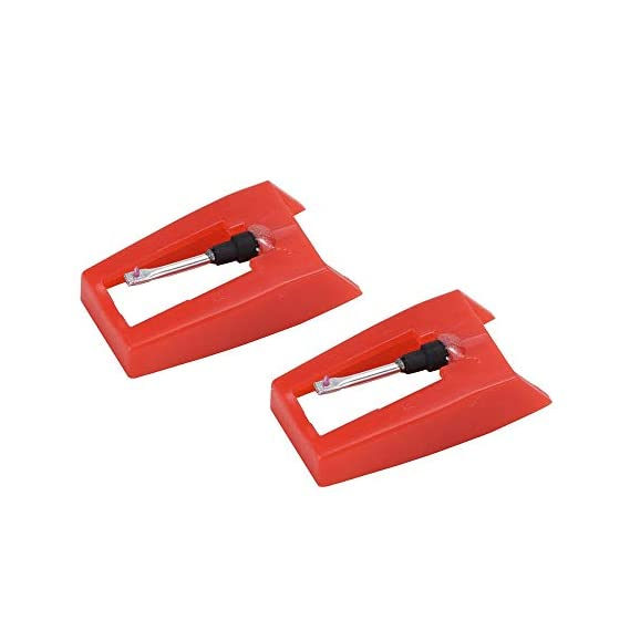 CLAW Replacement Stylus Needle for Turntable Record Players - Stag Portable, Stag Superb and Stag Superb Plus (Pack of 2