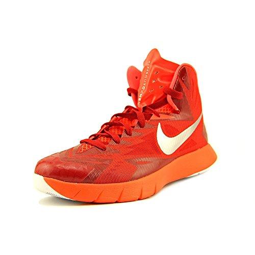 Nike Lunar Hyperquickness TB Herren Rot BasketballSchuh EU 40