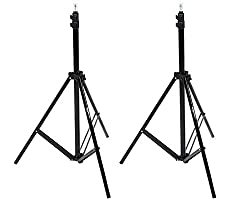 Amazonbasics Aluminum 7-foot Light Stand With Case - 2-pack