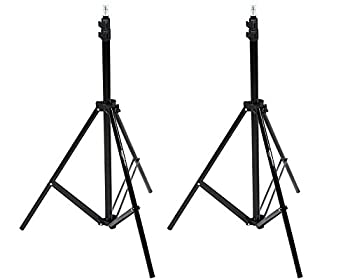 Amazonbasics Aluminum 7-foot Light Stand With Case - 2-pack 0