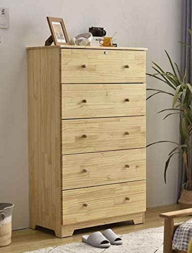 100 Solid Pine Wood Super Jumbo Chest 4 or 5 Deep Drawers Storage Dresser