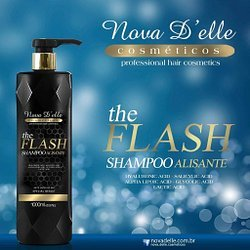 The Flash Shampoo Smooth Extreme Intense Hair Progressive Brush 1000ml by The Flash